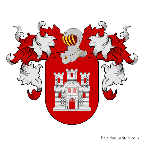 Coat of Arms of family Lacasa