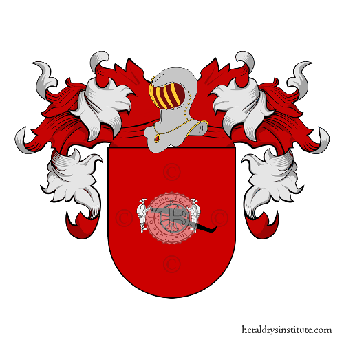 Coat of Arms of family Perulero