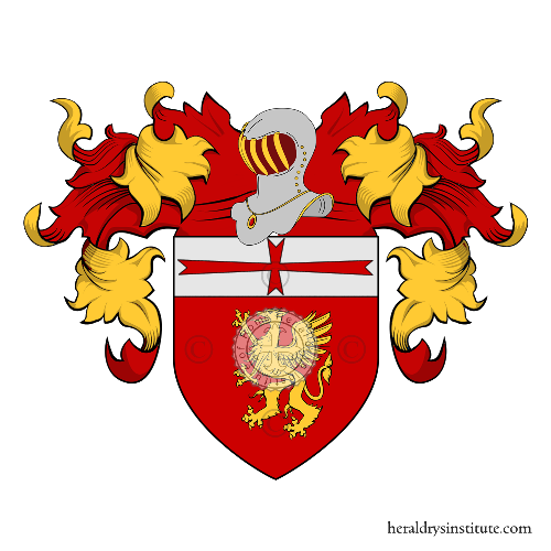 Coat of Arms of family Martelli (Toscana)