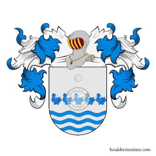 Coat of Arms of family Rogel
