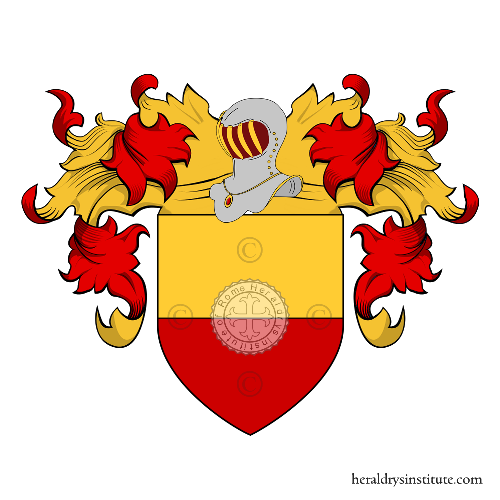 Coat of arms of family Paternò Castello ref: 18632