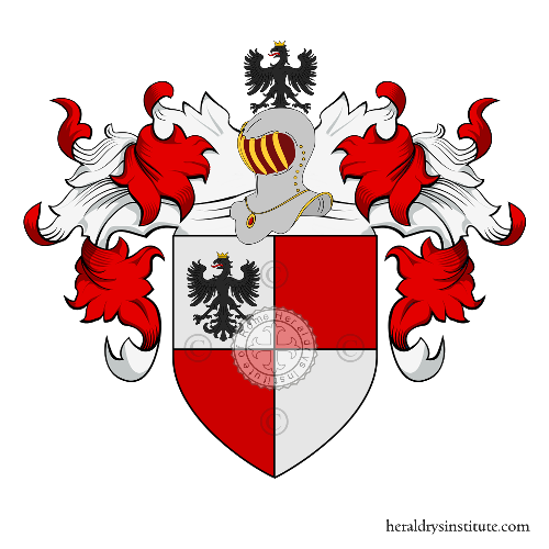 Coat of arms of family Paternò Castello ref: 18633