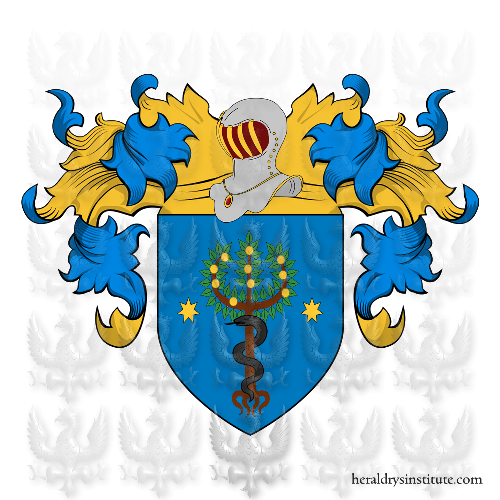 Coat of Arms of family Pomi