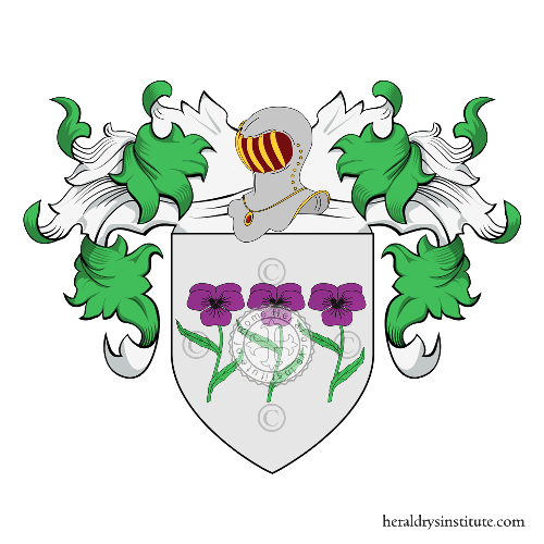 Coat of Arms of family Ruis de la Vega
