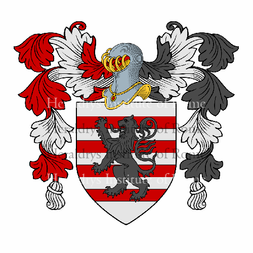 Coat of Arms of family Salvi (ex Bencivenni o Benciventi)