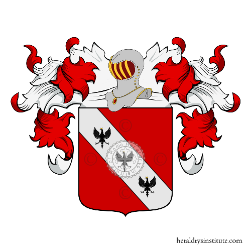 Coat of Arms of family Ligny o Lignay