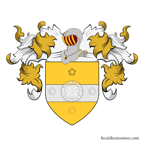 Coat of Arms of family Capo di Selva