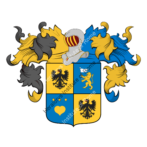 Coat of arms of family Zendroni