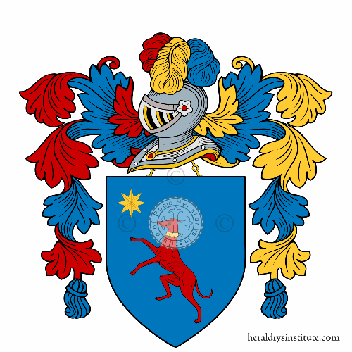 Coat of Arms of family Canucci