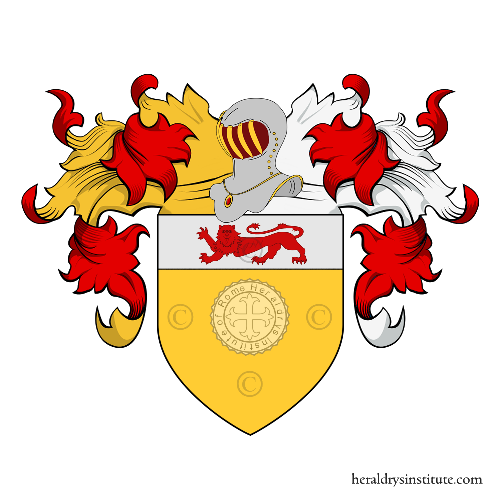 Coat of Arms of family Dedo