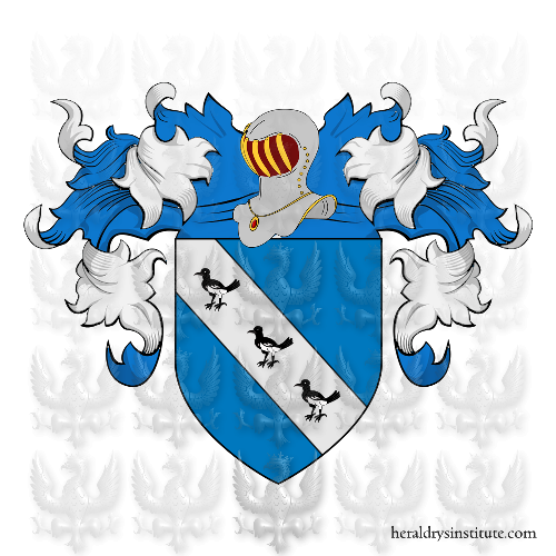 Coat of Arms of family Gavini