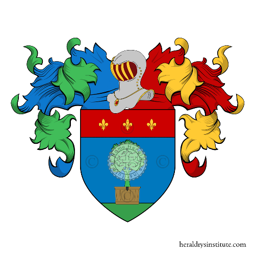 Coat of Arms of family Cassiani