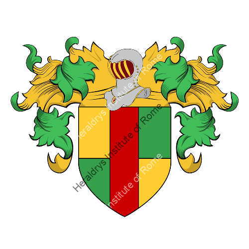 Coat of Arms of family Calonegi, Calonisi