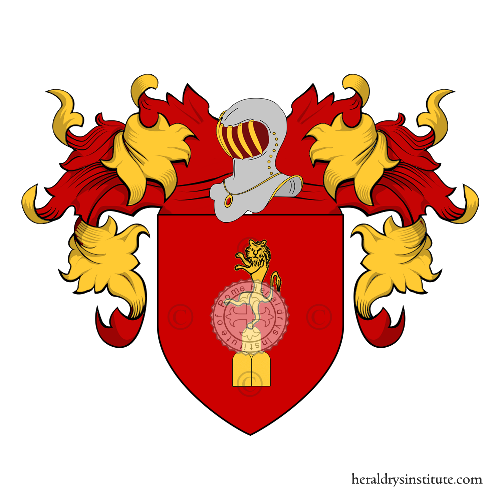 Coat of Arms of family Puzone o Puzzoni