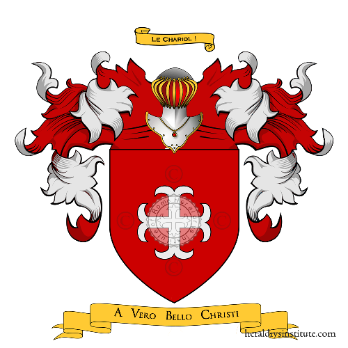 Coat of Arms of family Bouillè du Chariol