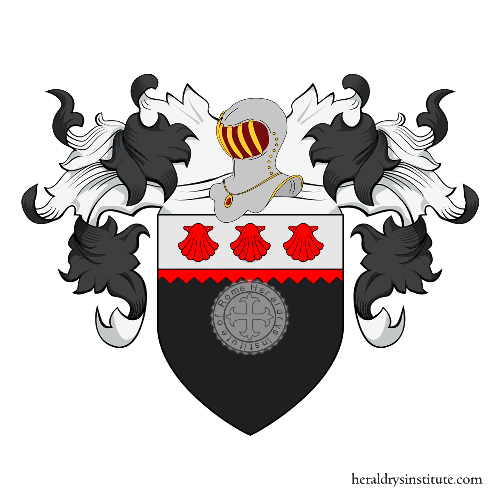 Coat of Arms of family Delie