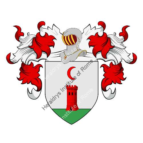 Coat of Arms of family Vecchi (Bologna)