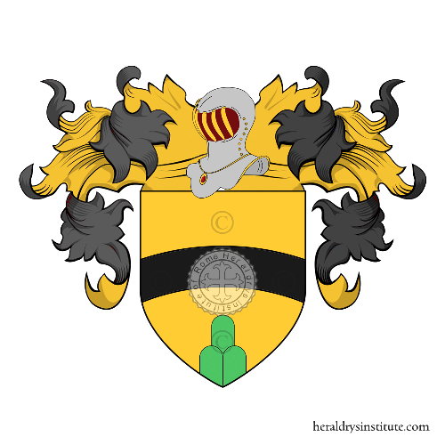 Coat of Arms of family Ardesio