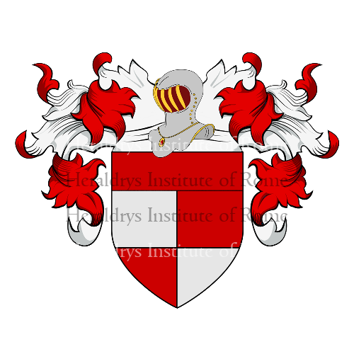 Coat of Arms of family Lombardi (Bergamo)