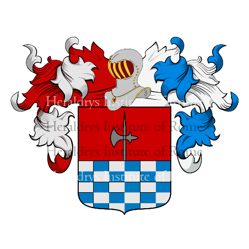 Coat of arms of family Lombardi