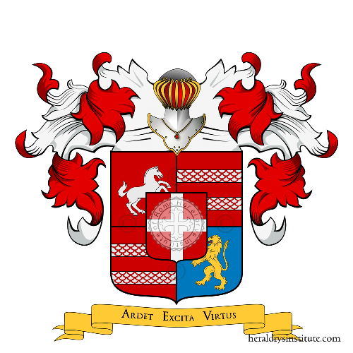 Coat of Arms of family Villa (di,de,della ..)