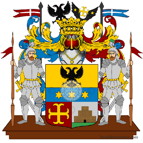 Coat of Arms of family Rettani