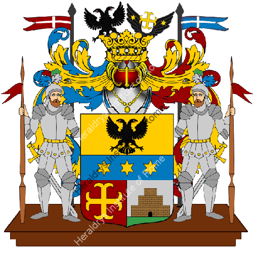 Coat of arms of family Dettani