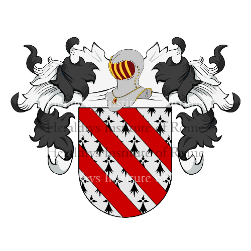 Coat of Arms of family Chacin