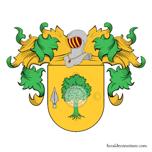 Coat of Arms of family Barca (de)