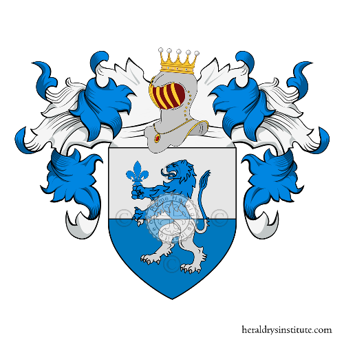 Coat of arms of family Lagomarsino