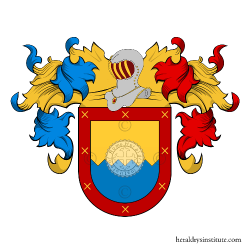 Coat of Arms of family Leoncio