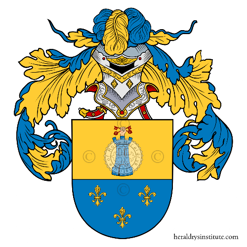 Coat of Arms of family Bonell