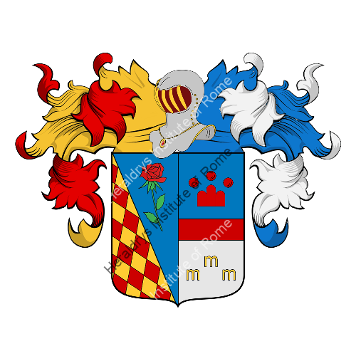Coat of Arms of family Menchi