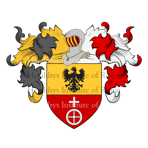 Coat of Arms of family Bazzi o Bazzo