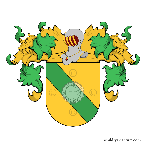 Coat of Arms of family Causelo