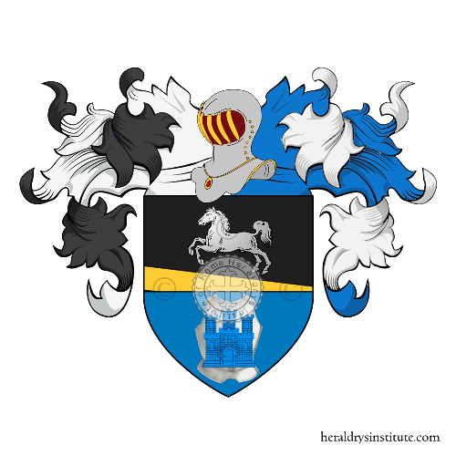 Coat of Arms of family Merlin
