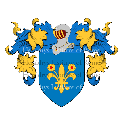 Coat of arms of family da Romano