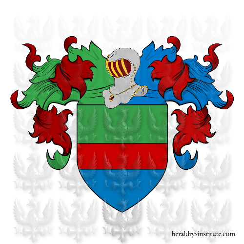 Coat of Arms of family Lerice o Ilice