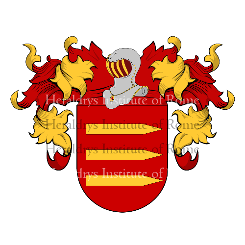 Coat of Arms of family Deviller
