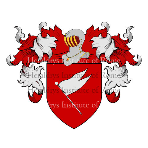 Coat of Arms of family Casamatta
