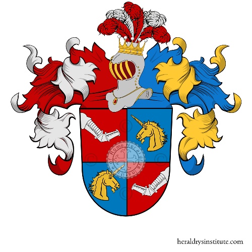 Coat of Arms of family Elbing (Baviére)