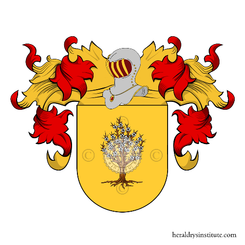 Coat of Arms of family Ospino, Ospina