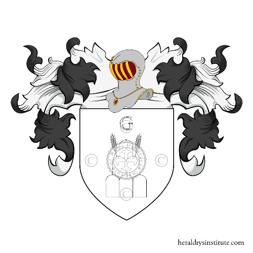 Coat of Arms of family Castellacci
