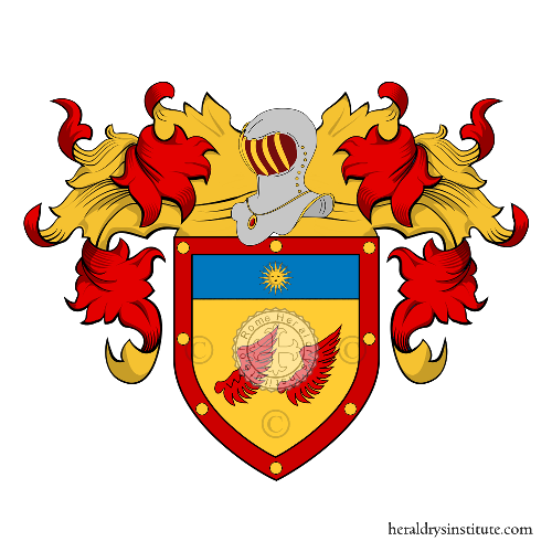 Coat of Arms of family Ales