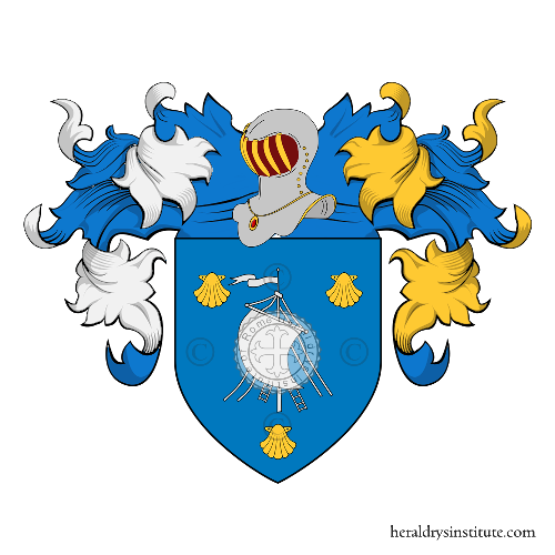 Coat of Arms of family Coquille ou Coquillon
