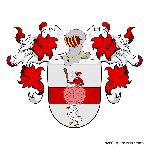 Coat of Arms of family Hille (Prusse)