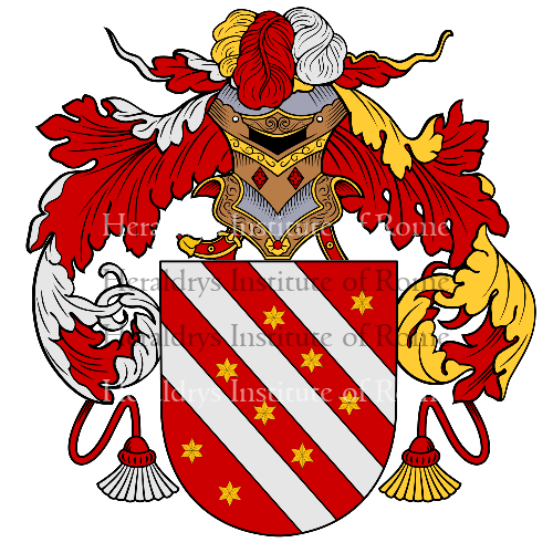 Coat of arms of family Barros