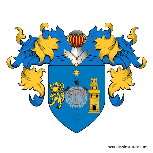 Coat of Arms of family Iazeolla
