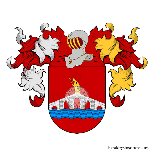 Coat of Arms of family Pontes