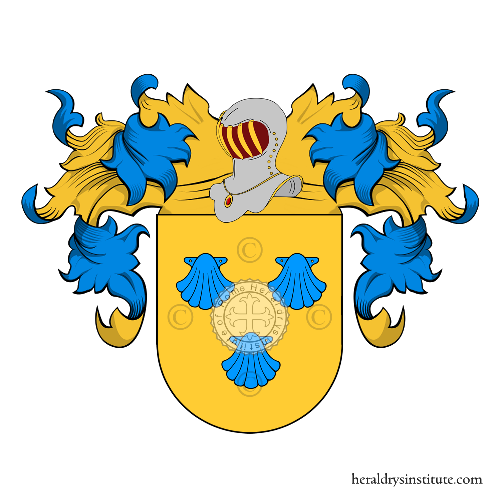 Coat of Arms of family Marcano